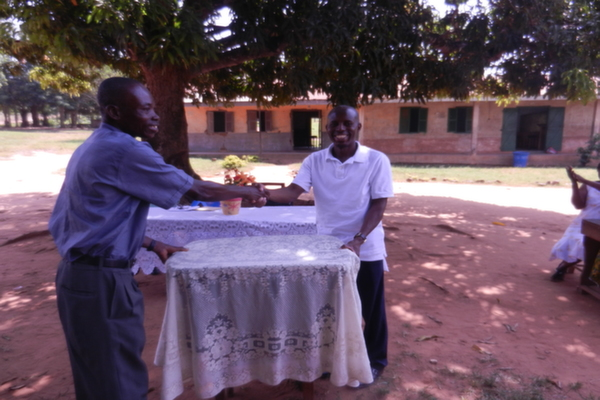 GBAF presents books, other educational materials to Asueyi Primary school in the Techiman district, Ghana