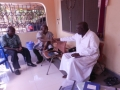 GBAF meets the Administrator of Piase Primary School, the catholic Bishop of the diocose